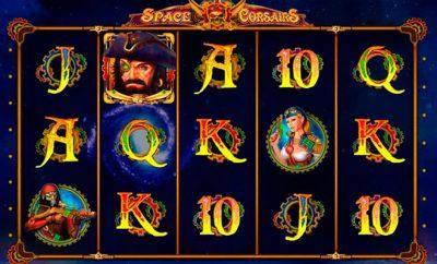 игровой автомат онлайн Space Corsairs