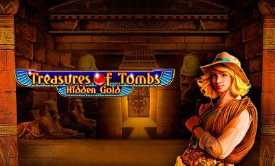 игровой автомат онлайн Treasures of Tombs Hidden Gold