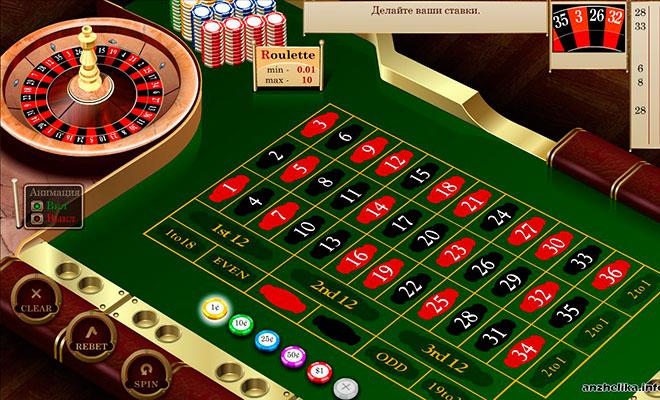 как обыграть европейскую рулетку онлайн